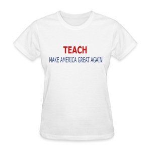 Teach - Women's T-Shirt