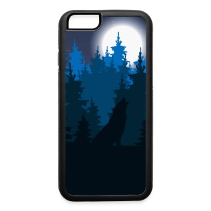 Wolf phone cover - iPhone 6/6s Rubber Case