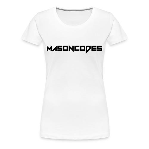 Women's 'Masoncodes' Tee - Women's Premium T-Shirt