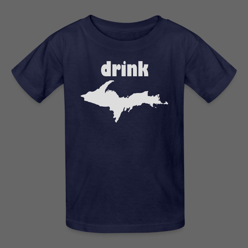 Drink U.P. - Kids' T-Shirt