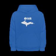 Sweatshirts ~ Kids' Hoodie ~ Drink U.P.