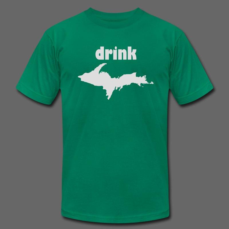 Drink U.P. - Men's Fine Jersey T-Shirt