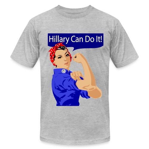 HILLARY CAN DO IT! - Men's  Jersey T-Shirt
