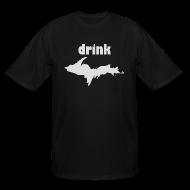 T-Shirts ~ Men's Tall T-Shirt ~ Drink U.P.