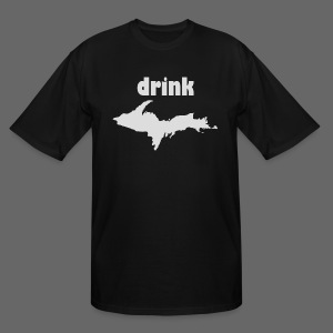 Drink U.P. - Men's Tall T-Shirt