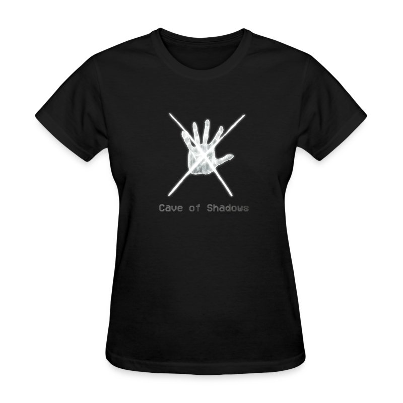 Cave of Shadows Hand Symbol Women's T-Shirt - Women's T-Shirt
