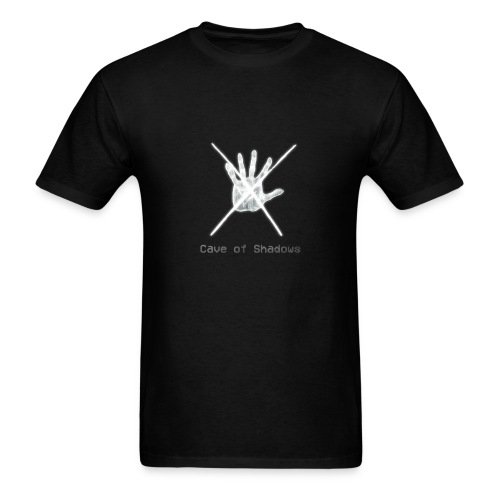 Cave of Shadows Hand Symbol Men's T-Shirt - Men's T-Shirt