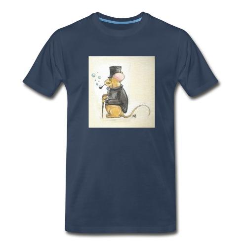 Sherlock Mouse - Men's Premium T-Shirt