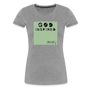 God Inspired Women's T-Shirt - Women's Premium T-Shirt