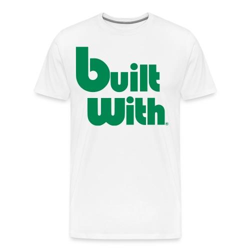BuiltWith Mens - Men's Premium T-Shirt
