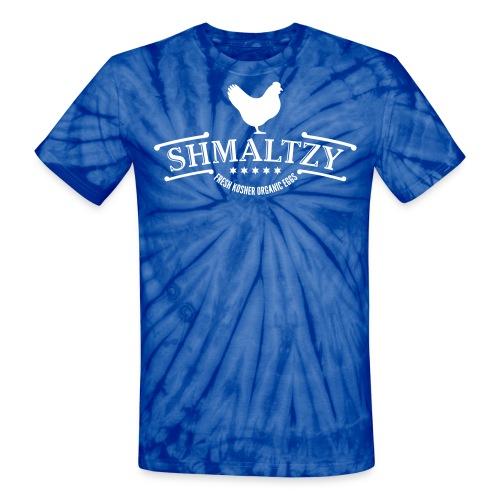 Shmaltzy Tie Dye - Unisex Tie Dye T-Shirt