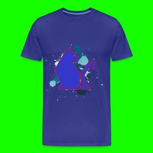 Blue PawPuk #2 - Men's Premium T-Shirt