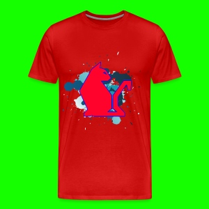 Red PawPuk - Men's Premium T-Shirt