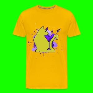Yellow PawPuk - Men's Premium T-Shirt
