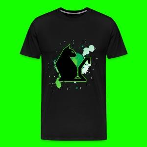 Green PawPuk - Men's Premium T-Shirt