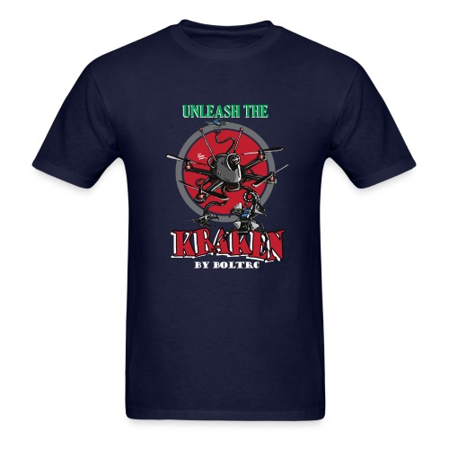 Unleash the Kraken v2 - BoltRC (mens) - Men's T-Shirt