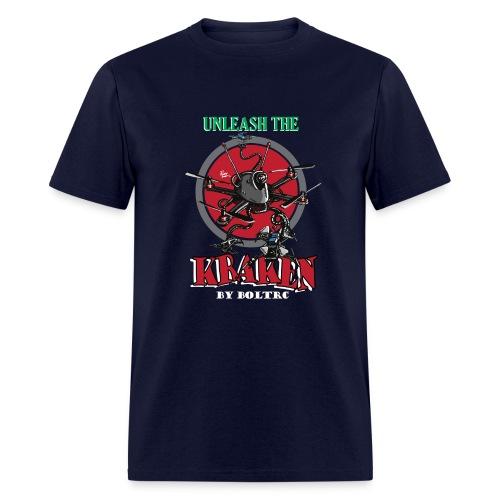 Unleash the Kraken v2 - BoltRC (mens) - Men's T-Shirt