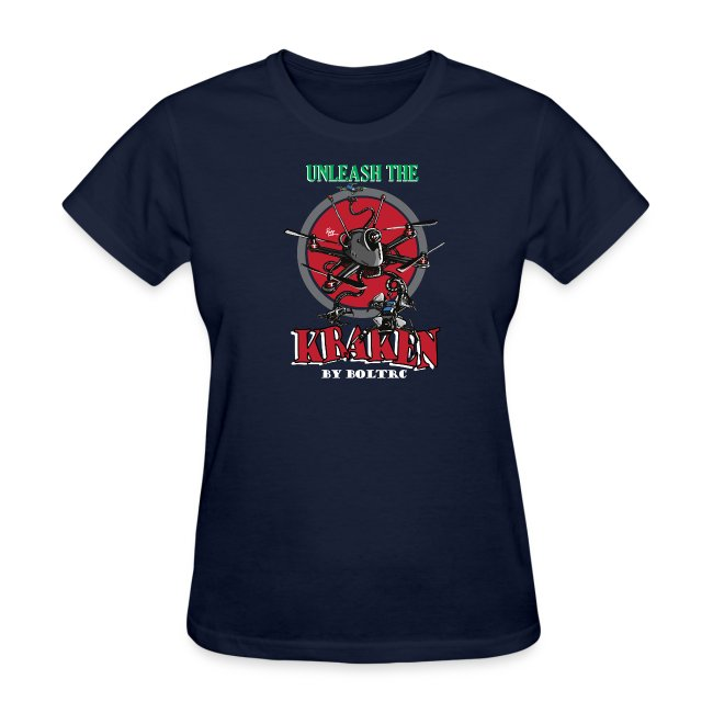 Unleash the Kraken v2 - BoltRC (womens)