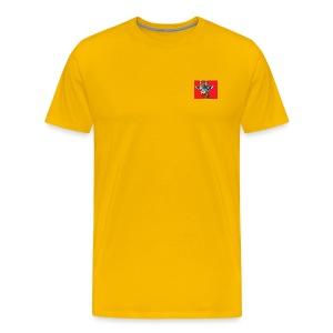 OG Lazy giraffe yellow - Men's Premium T-Shirt