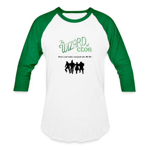 The Wizard of Clog - Unisex - Baseball T-Shirt
