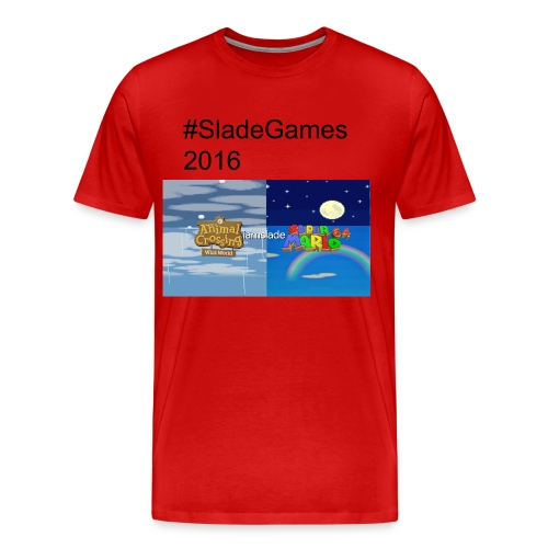 #SladeGames 2016 | August Series Version - Men's Premium T-Shirt
