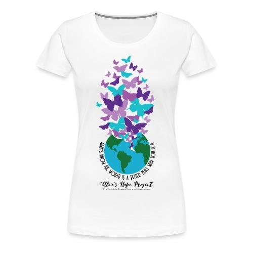 Alan's Hope Project | Woman's Tee - Women's Premium T-Shirt