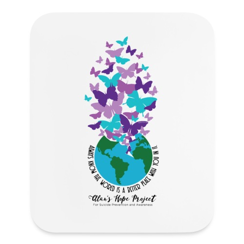 Alan's Hope Project | Artwork Mousepad - Mouse pad Vertical