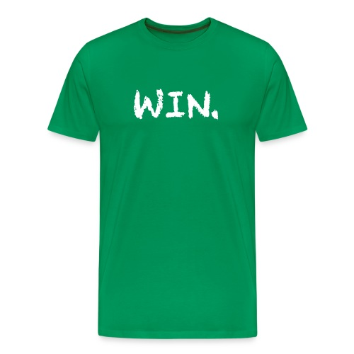 Green Win Period T-Shirt - Men's Premium T-Shirt