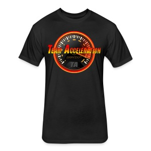Team Acceleration Men's Fitted T-Shirt - Fitted Cotton/Poly T-Shirt by Next Level