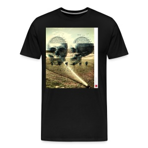 Skulls (black) t-shirt - Men's Premium T-Shirt
