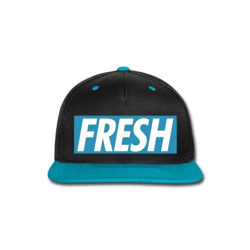 FRESH TheMix Snapback (BLUE) - Snap-back Baseball Cap