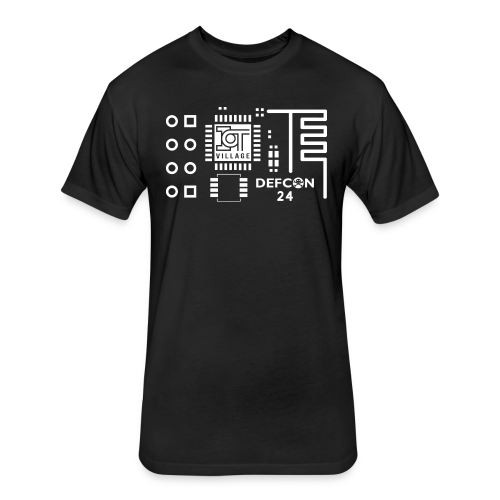 IoT Village T-Shirt - Fitted Cotton/Poly T-Shirt by Next Level