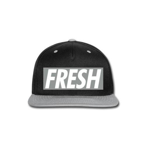 FRESH TheMix Snapback (GRAY) - Snap-back Baseball Cap