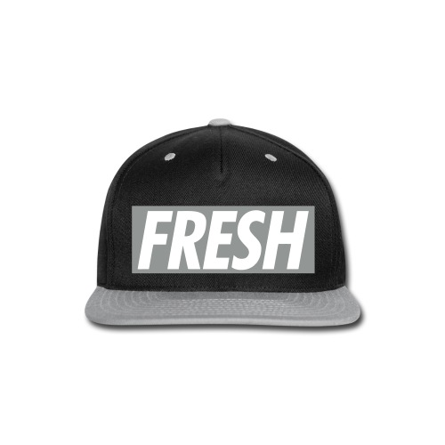 FRESH TheMix Snapback (GRAY) - Snap-back Baseball Cap