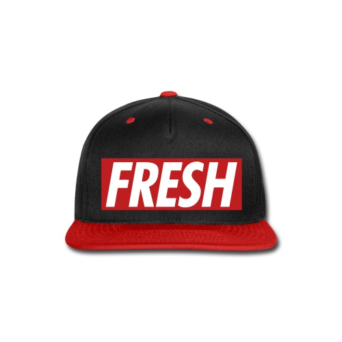 FRESH TheMix Snapback (RED) - Snap-back Baseball Cap
