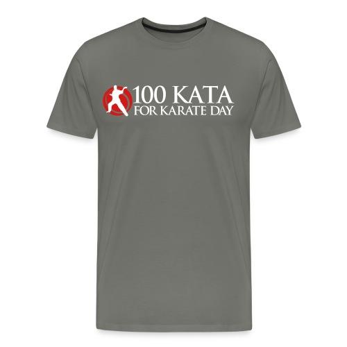 100 Kata Challenge for Karate Day Official T-Shirt 1 - Men's Premium T-Shirt