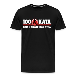 100 Kata for Karate Day official tshirt 02 - Men's Premium T-Shirt