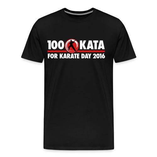 100 Kata Challenge for Karate Day Official T-Shirt 2 - Men's Premium T-Shirt