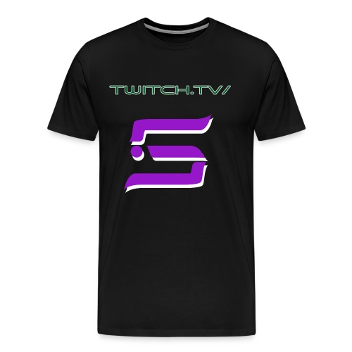 Twitch.tv/Scarrrz & Logo T-Shirt!  - Men's Premium T-Shirt