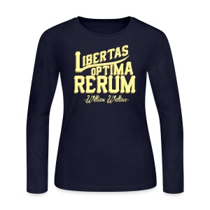 Libertas | Women's Long Sleeve - Women's Long Sleeve Jersey T-Shirt