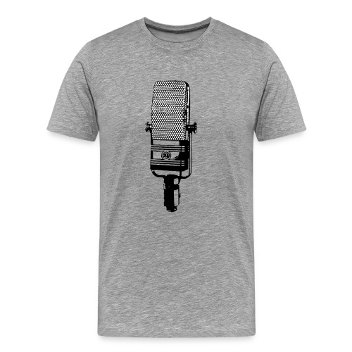 The RCA 44C Tee - Grey - Men's Premium T-Shirt