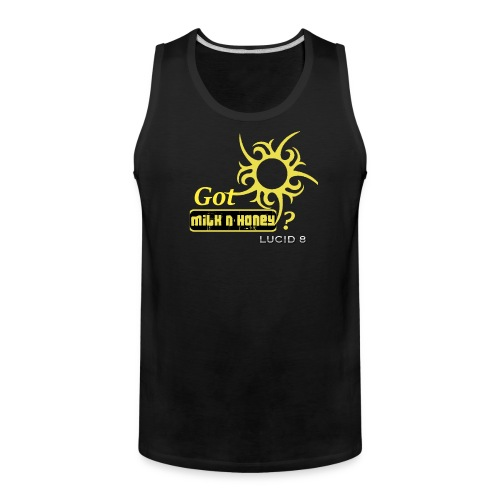 Lucid 8 Milk n' Honey Men's Tank - Men's Premium Tank