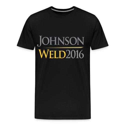Johnson/Weld Men's Shirt - Men's Premium T-Shirt