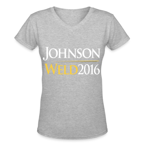 Johnson/Weld Women's Shirt - Women's V-Neck T-Shirt