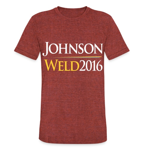 Johnson/Weld TriBlend Shirt - Unisex Tri-Blend T-Shirt