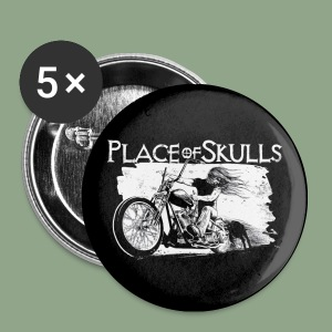 Place of Skulls - Biker Button - Small Buttons