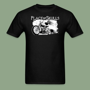 Place of Skulls - Biker T-Shirt (men's) - Men's T-Shirt