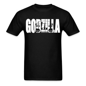 GODZILLA GTR R35 white - Men's T-Shirt