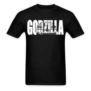 GODZILLA R34 white - Men's T-Shirt