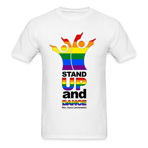 Stand Up and Dance - Basic T-Shirt - White - Men's T-Shirt